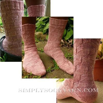 Knitspot Kites Sock