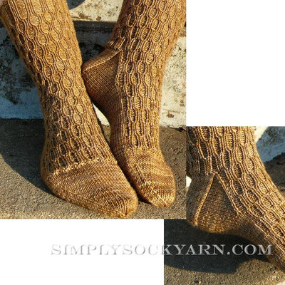 Knitspot Lacunae Sock