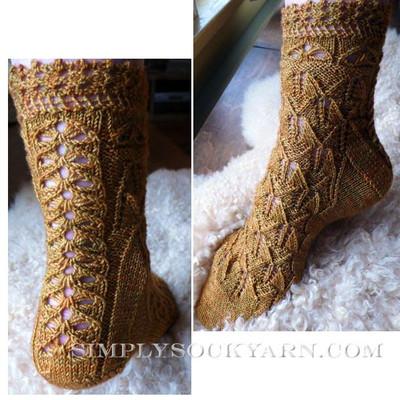 Knitspot Marie Antoinette Sock