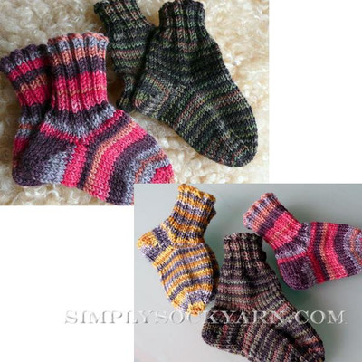 Knitspot Oh Baby Sock
