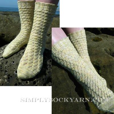 Knitspot Port Ludlow Sock