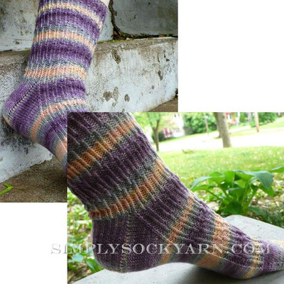 Knitspot Shifty Sock