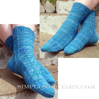 Knitspot Sock de la Mer Socks