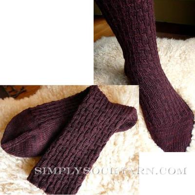 Knitspot Tesserae Sock