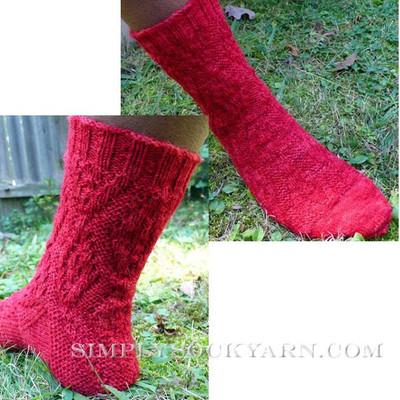 Knitspot Cardigan Sock
