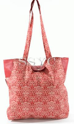 RRR San Francisco Tote Red Ikat