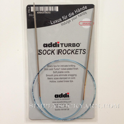 "Addi Sock Rocket 40"" US 0.5"