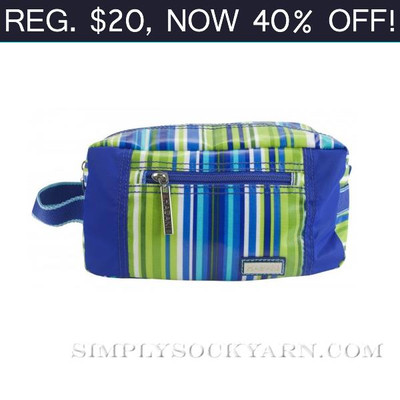 HK Box Bag Jazz Stripe Cobalt