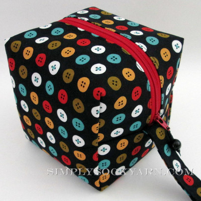 BL Bags Cube Mad Mend Buttons