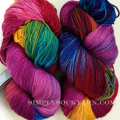 FA Trail Sock Hibiscus
