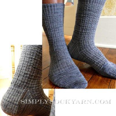 Knitspot Gridiron Sock