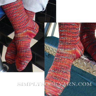 Knitspot Movie Night Sock