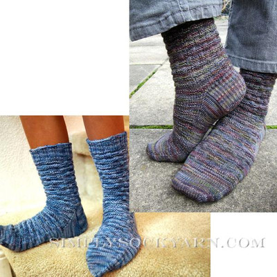 Knitspot Basketweave Sock