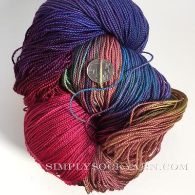 MWP 250g Merino Sock Hibiscus