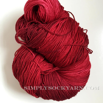 MWP 250g Merino Sock Ruby