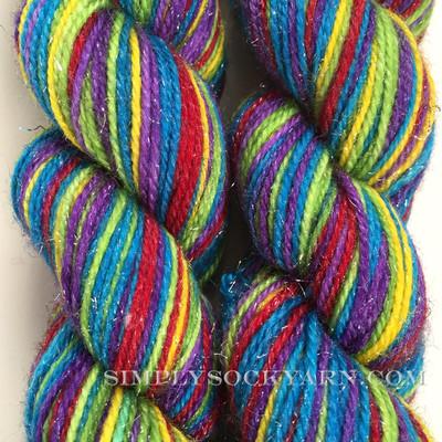 TPY Glitter Str Rainbow Brite