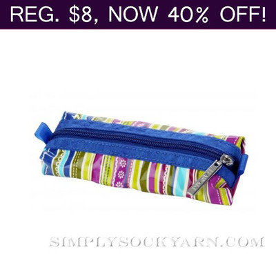HK Needle Pouch Cobalt Stripes
