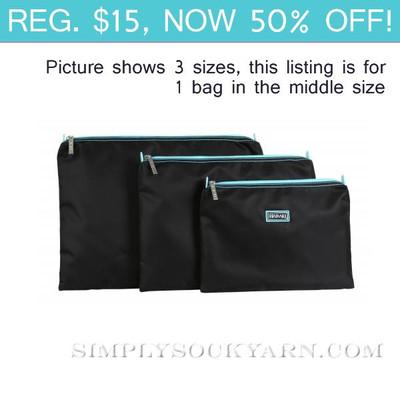 HK Zip Bag Black