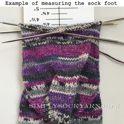 Sock Ruler
