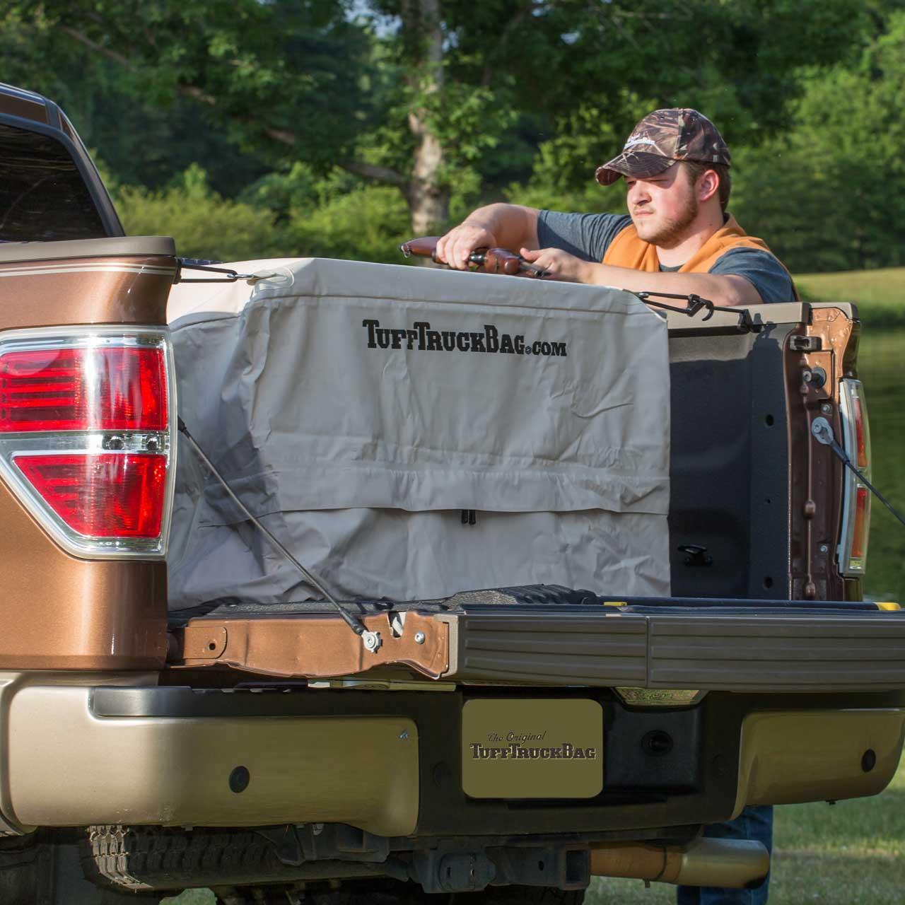 The outdoor khaki Tuff Truck Bag
