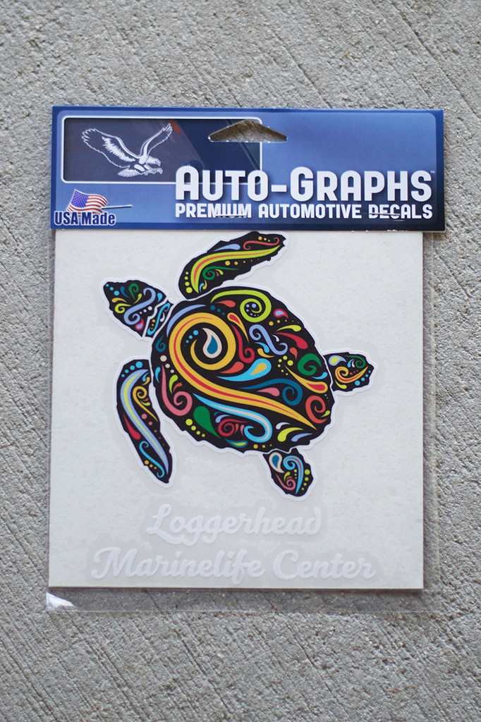 Paisley Loggerhead Marinelife Center Decal