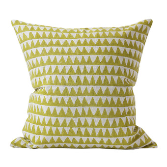Pyramids Pista linen cushion 50x50cm