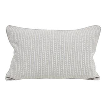 Hakuro chalk linen cushion 35x55cm