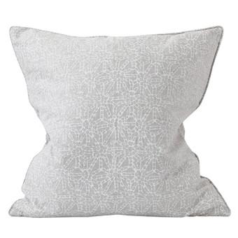 Kanoko chalk linen cushion 55x55cm