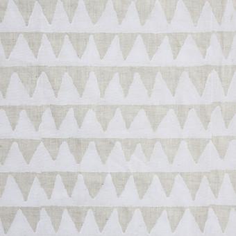 Pyramids Chalk Linen