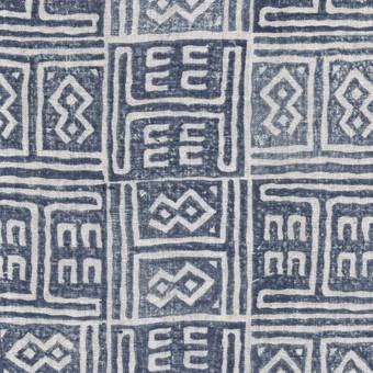 Kuba Indian Teal Linen