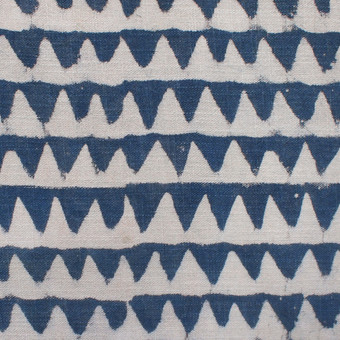 Pyramids Indigo Cotton