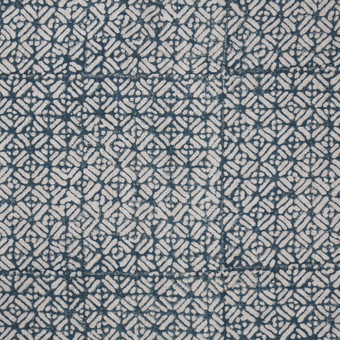 Batik Pacific Blue Linen