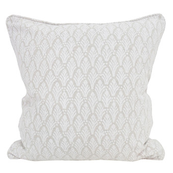 Colaba Chalk linen cushion 50x50cm
