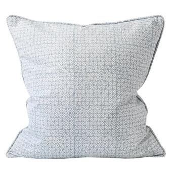 Batik Dusk linen cushion 55x55cm