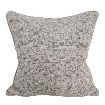 Bhujodi Mud linen cushion 50x50cm