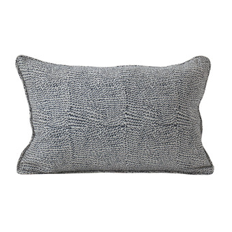 Bungle Bungles Indian Teal linen cushion 30x45cm