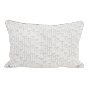 Mali Chalk linen cushion 35x55cm