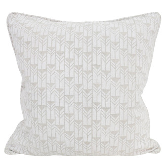 Mali Chalk linen cushion 50x50cm