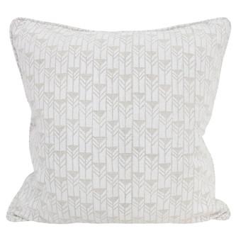 Mali Chalk linen cushion 50x50cm