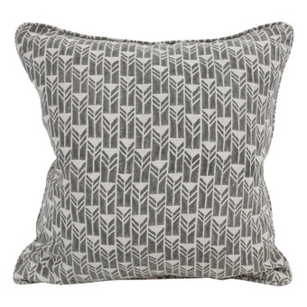 Mali Mud linen cushion 50x50cm
