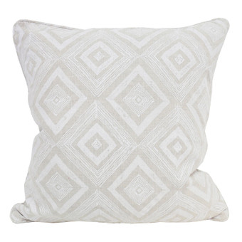 Swazi Chalk linen cushion 55x55cm