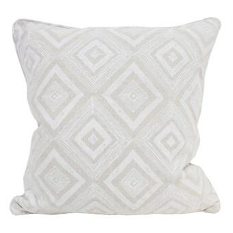 Swazi Chalk linen cushion 55x55cm