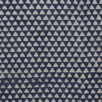 Huts Indigo Cotton