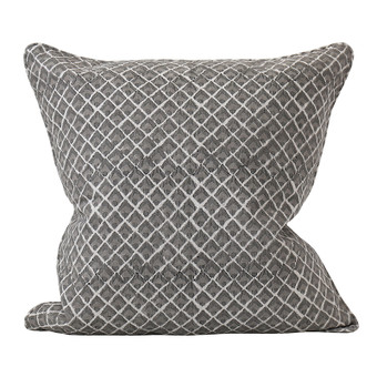 Assam Mud linen cushion 50x50cm