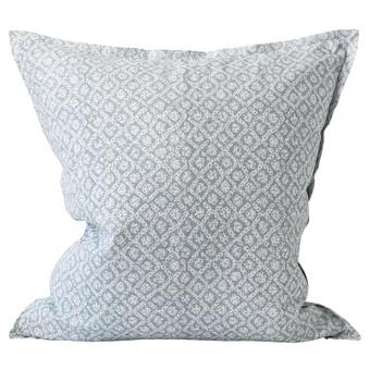 Bandhini Inverse Dusk linen cushion 55x55cm