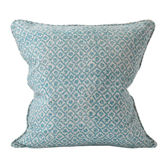Bandhini Turkish linen cushion 50x50cm