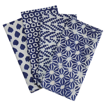 Nila mix cotton napkins (set of 4)