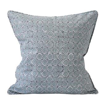 Faro Dusk linen cushion 50x50cm