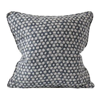 Holi Slate linen cushion 50x50cm