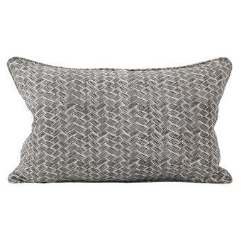 Kasari Mud linen cushion 35x55cm